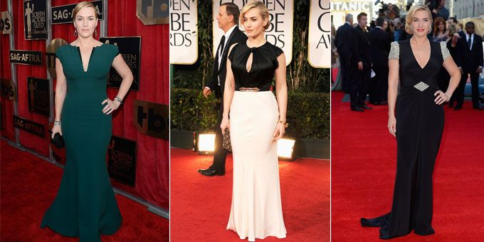 Kate Winslet outfits ceremonies