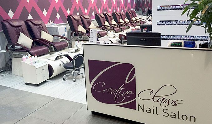 Bridal beauty manicures and pedicures at Creative Claws Brisbane