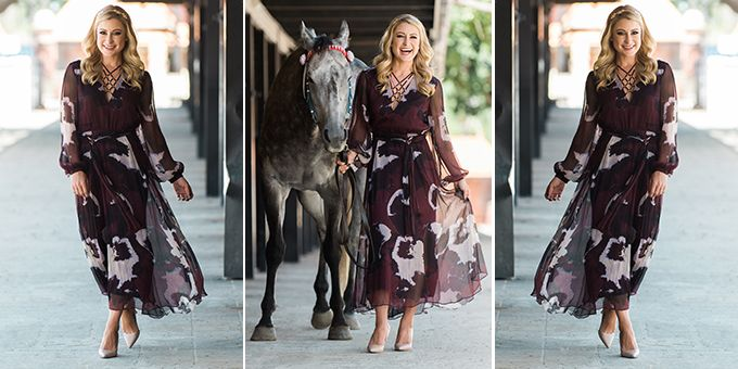 Latest fashion news Liz Cantor has been revealed as the face of the 2016 Channel Seven Brisbane Racing Carnival