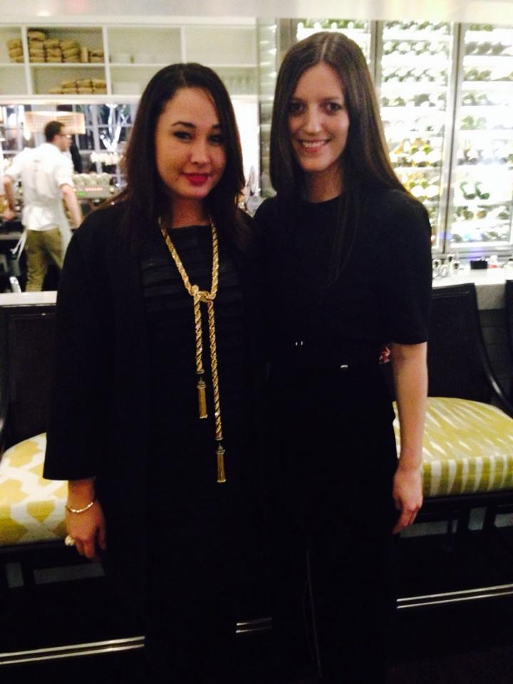Fashion Weekly's Editor-in-Chief, Stacey O'Keeffe & Vogue Australia's Market Editor, Philippa Brophy