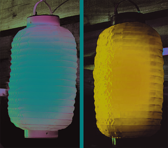 Gardman - Solar Chinese style Party Garden Lantern Light, $10