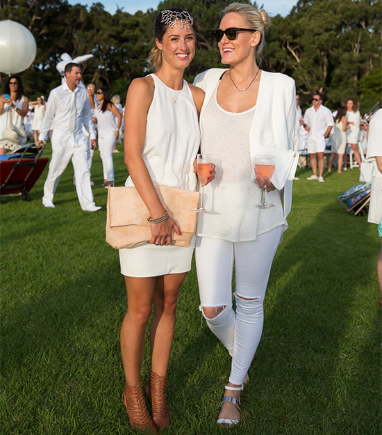 Alex Perry Says White is Right this Summer