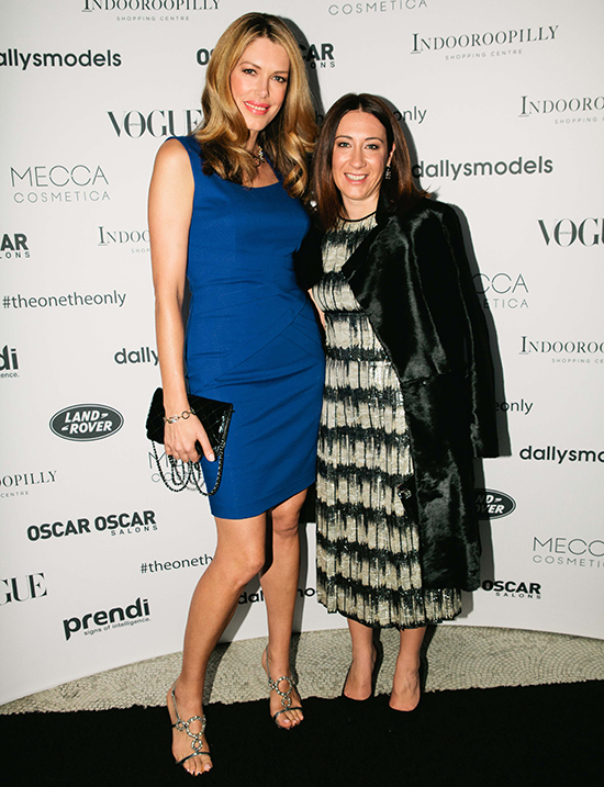 Tara Moss, and Vogue Editor-in-Chief Edwina McCann