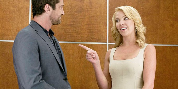 Katherine Heigl and Gerard Butler from The Ugly Truth