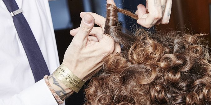 Vivienne Westwood's Red Label AW16 hair