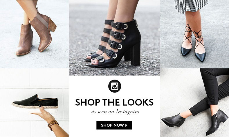 Models pose with shoes for online boutique Styletread