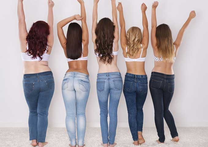 So, if you are overwhelmed by the thought of jeans shopping, read on, as we have compiled the ultimate guide to finding the perfect jeans for your shape, helping to make your next shopping trip a breeze.