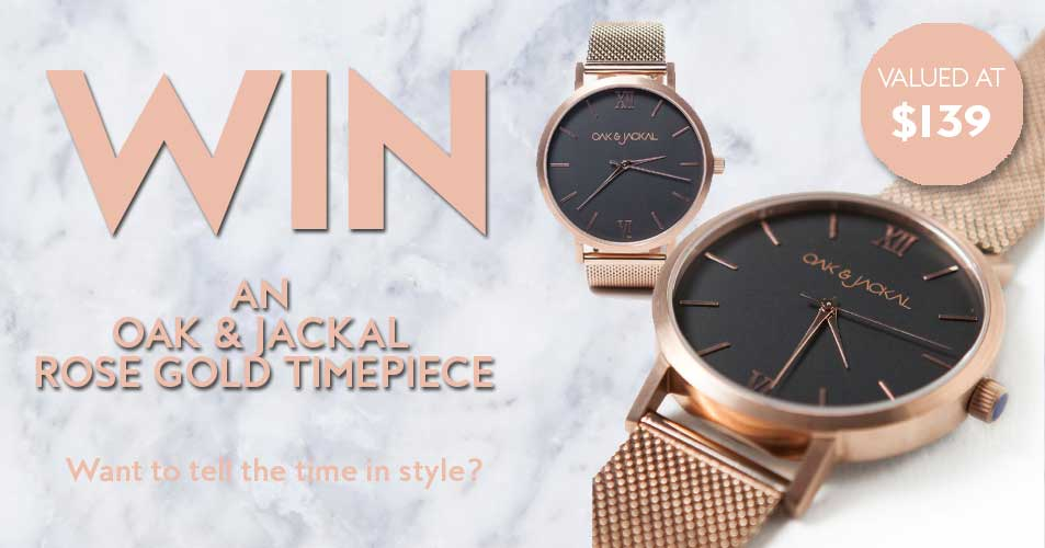 Would you like to a win an Oak & Jackal timepiece? Then, this competition is just for you!