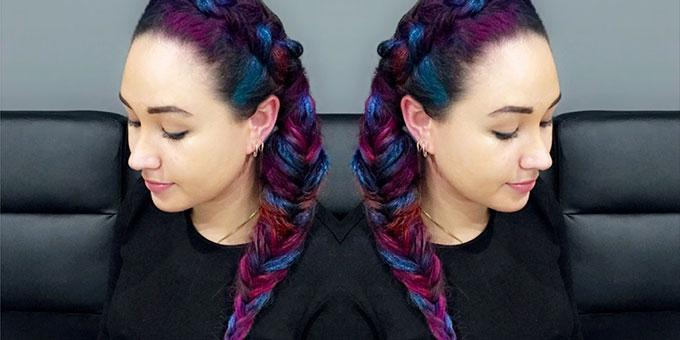 Now you can try crazy colours without the commitment - Fashion Weekly's Editor Stacey O'Keeffe