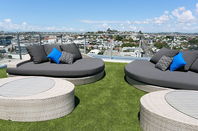 However, the secret gem to Alex Perry Hotel and Apartments is the rooftop recreation and dining terrace.