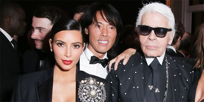 Kimye and Karl Lagerfeld exciting project