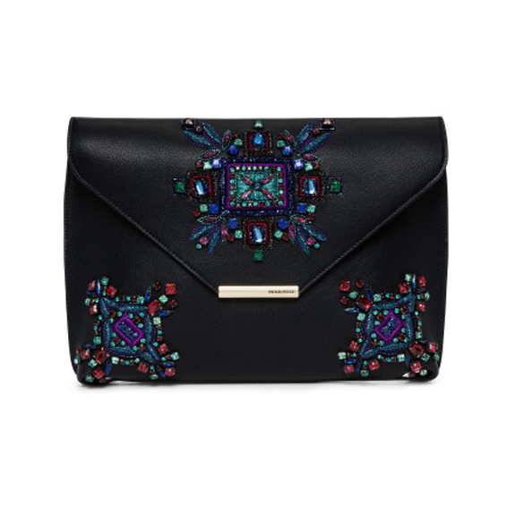 Emilio Pucci Newton Large Envelope Clutch With Crystal, $1434.30