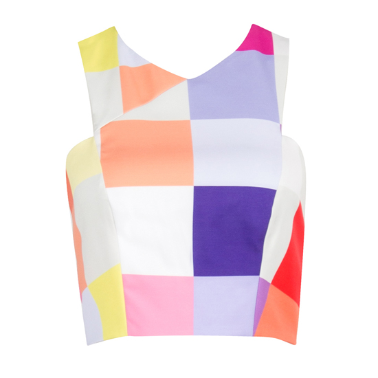 Confetti Crop Top, $15.95