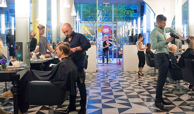 Queensland's best hair salon Papas and Pace