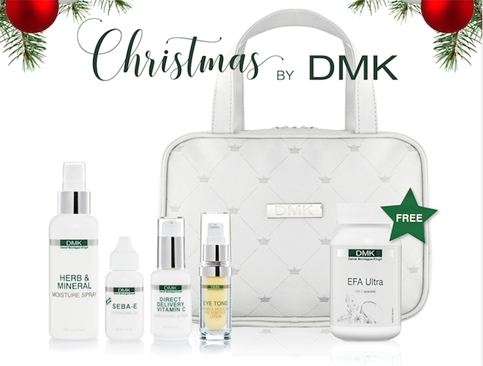 Our friends at DMK want to gift one lucky winner at Bounce Back Skin Care Gift Pack!
