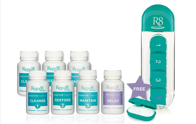 Our friends at Regul8 want to help you spring clean your insides this summer by giving one lucky winner the chance to win an exclusive Regul8 gift pack valued at RRP $464!