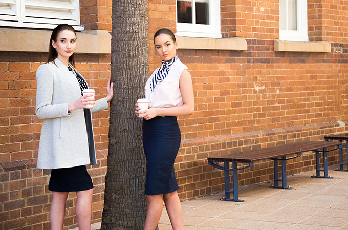 Do you love the look of pencil skirts but shy away from the constant wardrobe adjustments, ill fit and sweaty fabrics? Well, thanks to Brisbane lawyer Rebecca Pierluigi, you can now get your hands on the perfect pencil skirt. Simply put, her clever designs don't twist or ride up!