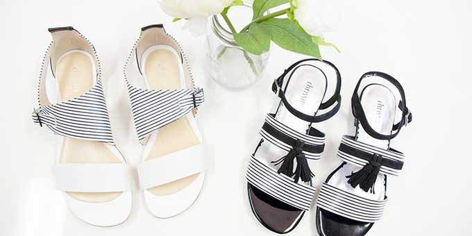 Find the perfect combination of comfort and class with Cassardi Shoe Studio's fresh summer range.