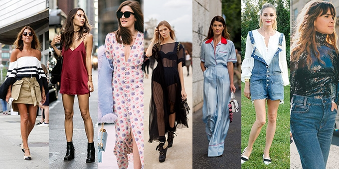 From bare shoulders, slip dresses and disco sequins- here's the latest fashion trends you'll be rocking this Australian spring summer 2016/2017.