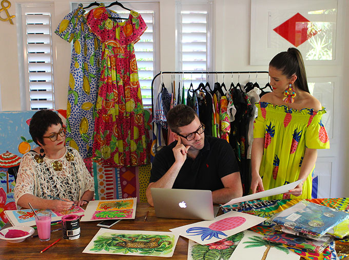 Introducing designer Kristian Williams from BONITA who has produced a colourful collection of kaftans and separate pieces that you'll be obsessed with this summer.