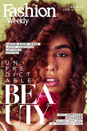 Fashion Weekly Issue 33 Unpredictable Beauty August 12 2015