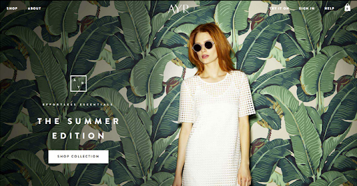 How fashion websites are embracing the latest style trends