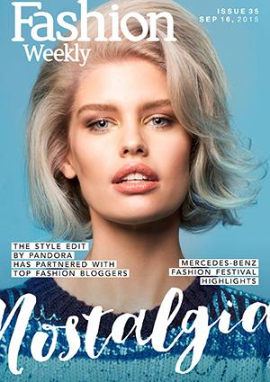 Fashion Weekly Magazine Issue 35 | Nostalgia Sept 16, 2015