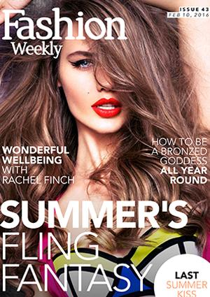 Fashion Weekly Issue 43 Summer's Fling Fantasy